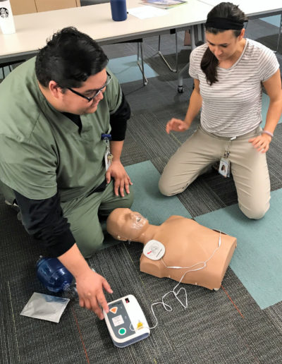 Automated External Defibrillator - AED Rescue