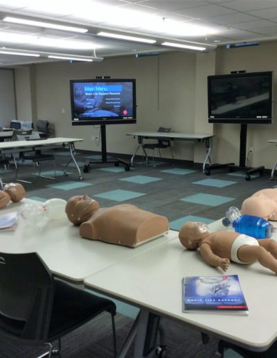 BLS Classroom all set up
