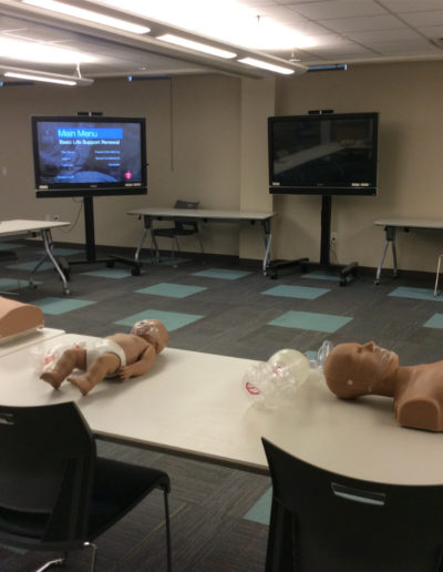 BLS class set-up