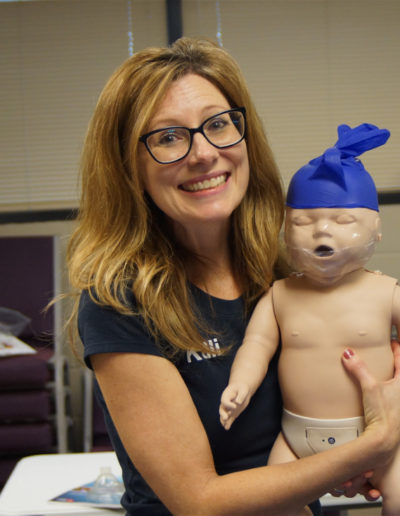Class Fun - Infant Training Manikin with glove on head